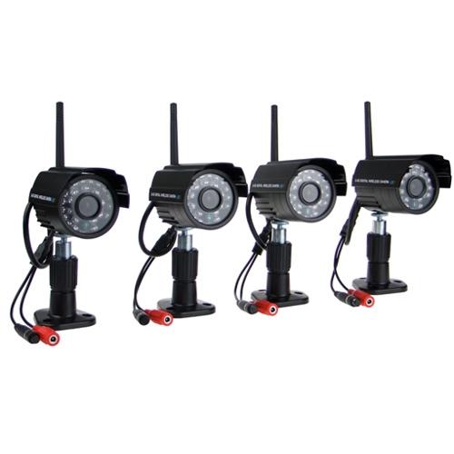cf99289c6e2 Sada 4 bezdrátových bezpečnostních kamer s nočním viděním - inChina ...