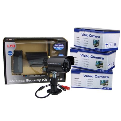 a6ddf24b224 Sada 4 bezdrátových bezpečnostních kamer s nočním viděním - inChina.cz - bezpečný  nákup z číny