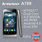Lenovo A789 - Dual Sim 3G Google Android 4.0 �esk� jazyk Dual-core